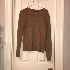 J. Crew Camel Wool Blend Angora Rabbit Sweater S